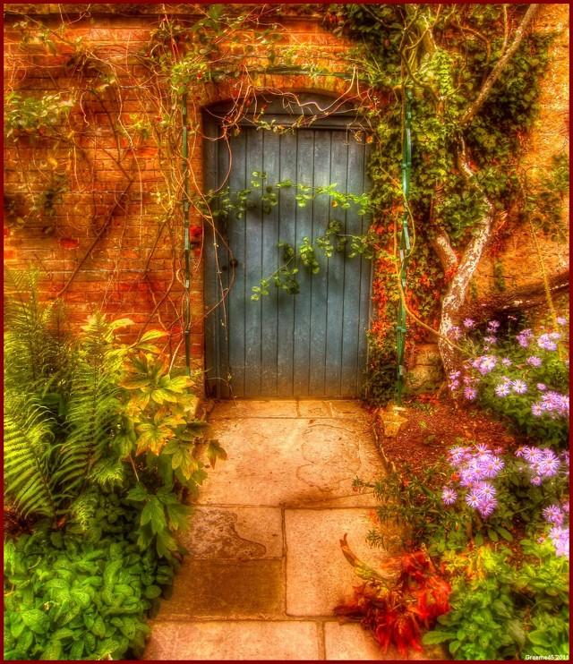 Enchanted Secret Walled Garden